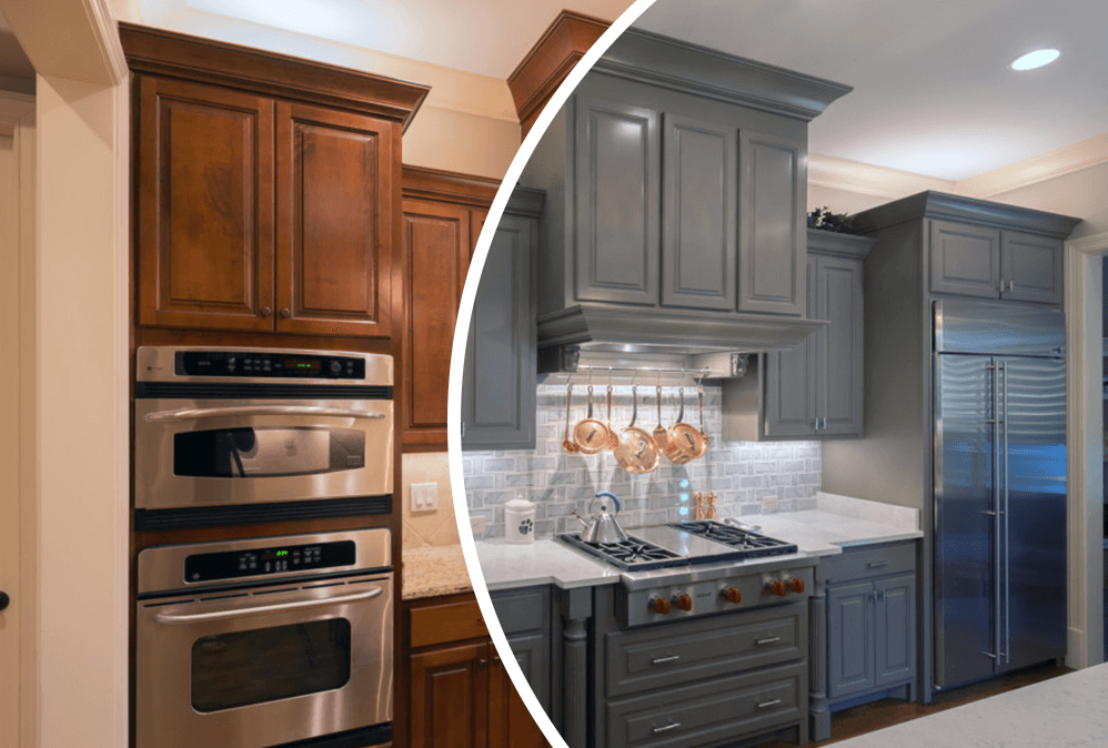 Cabinet Refinishing and Painting